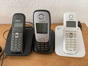 3x siemens telefon