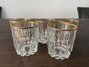 5 Scotch Whisky Gläser mit
