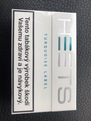 Heets Turquoise Menthol Blue Label