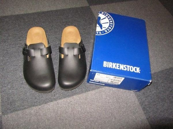 size 40 2162a 510ce Birkenstock Boston BS Black Größe 46 in Recklinghausen ...