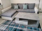 Sofa L-Form mit Liegefunktion