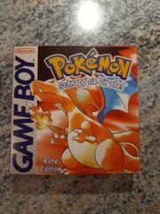 Pokemon Rote Edition OVP