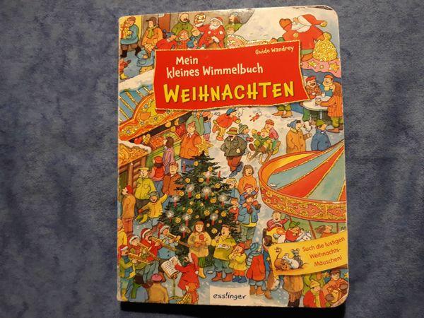 Wimmelbuch Weihnachten.Kinderbuch Wimmelbuch Weihnachten Für Kinder Ab 2 Jahren In