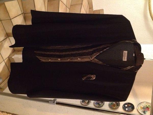 Abend-Long-Blusen-Jacke Lagenlook Gr 44 L
