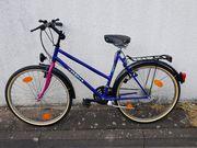 Damen-MTB CLIPPER 26 Zoll blau-pink
