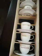 6 teiliges Kaffeeset