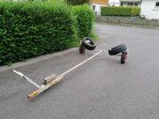 Bootstrailer Jollentrailer Hafentrailer Slipwagen