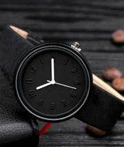 Damen Armbanduhr Deep Black Elegance