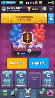 Clash Royale Account mit 4000