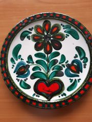 Keramikteller handgemalt