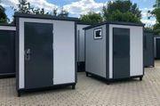 WC-Container - mit Dusche Sanitärcontainer Duschcontainer