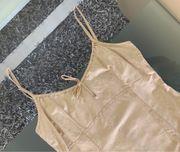 Leinenkleid von H M - beige -