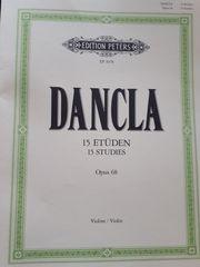 Geigenbuch DANCLA Opus 68