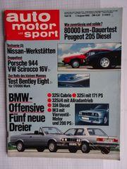 Auto Motor und Sport drei