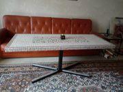 Vintage Couch-Tisch 70er Jahre Mosaik