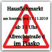 Hausflohmarkt am 17 11 2019