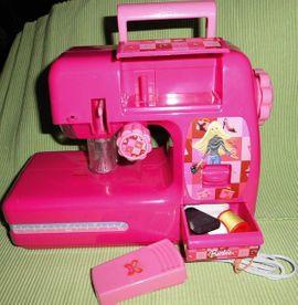 Puppen - Gebraucht Barbie Nähmaschine Lexibook