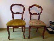 Zwei schöne Biedermeier Stühle