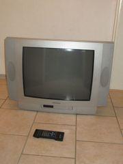 Farbfernseher silbern günstig abzugeben