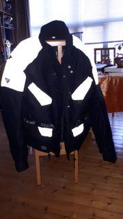 Motorradjacke Gr xxL schwarz mit