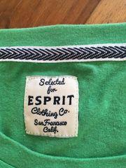 Männer T-Shirt grün L Esprit gebraucht kaufen  Mühlhausen