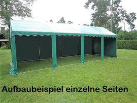 Bild 4 - 4x8m Lagerzelt 32qm² Arbeitszelt Weidezelt - Bielefeld