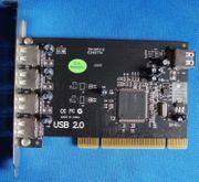 interne PCI Karte USB 2