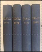 Aquarienfachzeitschriften DATZ von 1975 bis