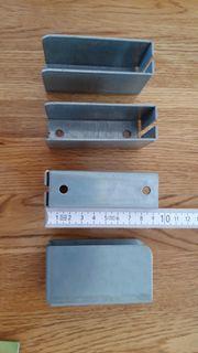 4 Stück Spriegeltaschen Spriegelhalter neu