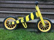 Laufrad aus Holz von Janosch