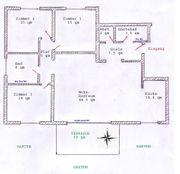 Komfort 4-Zimmer-Wohnung mit Garten in
