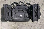 Gepäcksystem Seitentaschen Gepäckrolle moto detail