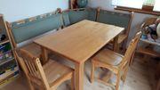 Eckbankgruppe Tisch und Stühle