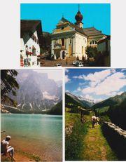 Postkarte aus den Dolomiten - Gröden