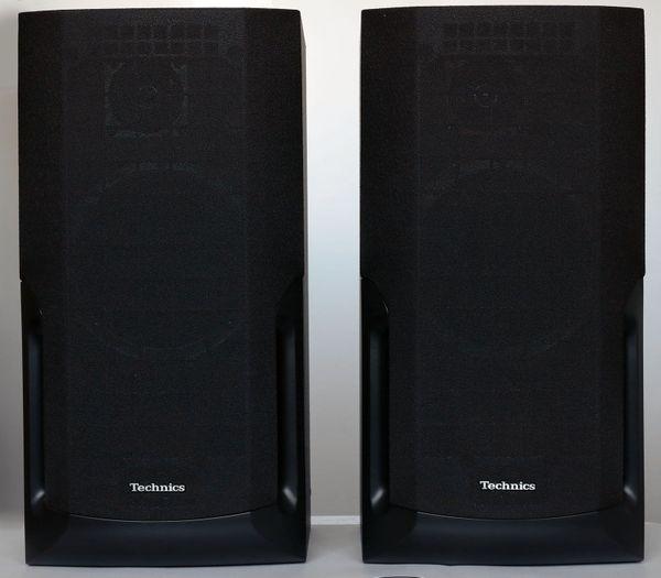 2 Technics SB-CH510A Lautsprecher Boxen schwarz