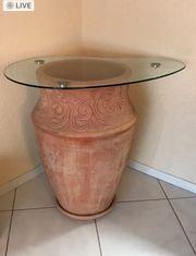 Terracotta Blumentopf XXL 2 Stück