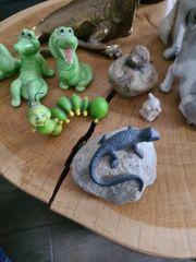 Tier Figuren Porzellan und Kunststoff