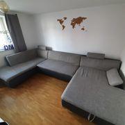 Schlafcouch Couch Wohnlandschaft