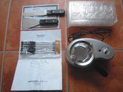 Elektrisches Schokofondue-Set zu verkaufen NEU