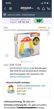 Intex Planschbecken Babypilz