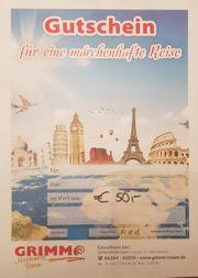 Reisegutschein im Wert von 50