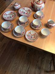 Japanisches Teeservice 6 Personen