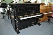 Feurich Klavier schwarz poliert