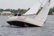 Segelboot Kielboot Mini-Compis Länge 6