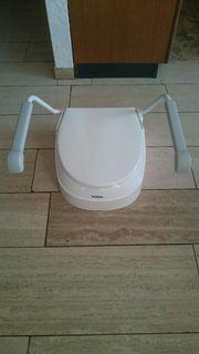 Toilettenstuhl unbenutzt Toilettenerhöhung unbenutzt