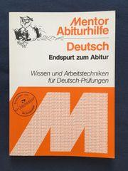 Buch Endspurt zum Abitur - Wissen