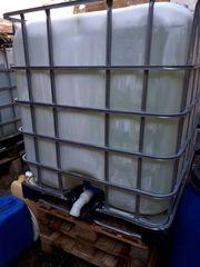 IBC Behälter 1000 Liter Wassertank