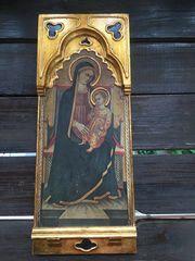 Ikone Heiligenbild Holzbild aus Russland
