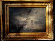 Ölbild von Victor Puhonny signiert1873