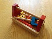 Werkzeugkasten für Kleinkinder Holz